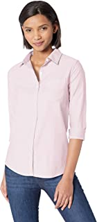 Women's Classic-Fit Long-Sleeve Oxford Shirt