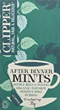 Clipper Tea - After Dinner Mints - Organic Double Mint & Fennel Infusion - 38g