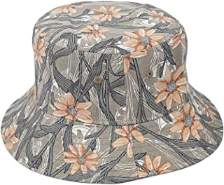 SODIAL 3D Flower Bucket Hat Female Woman Chapeau Fashion Fishing Hiking Hat Bob Caps Women Outdoor Panama Hat Summer Cap Navy Blue