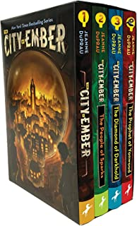 The City of Ember Complete Boxed Set: The City of Ember; The People of Sparks; The Diamond of Darkhold; The Prophet of Yon...