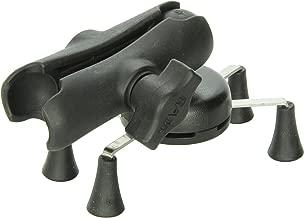 RAM MOUNTS (RAP-HOL-UN7B-201U Universal X-Grip Cell Phone Holder with Double Socket Arm