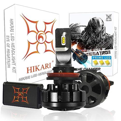 HIKARI Ultra LED Headlight Bulbs Conversion Kit -H11 (H8,H9), Prime