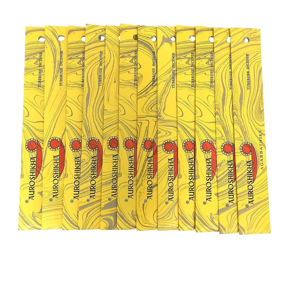 考えた面倒気難しいAUROSHIKHA オウロシカ(TUBEROSEチューベローズ12個セット) マーブルパッケージスティック 送料無料