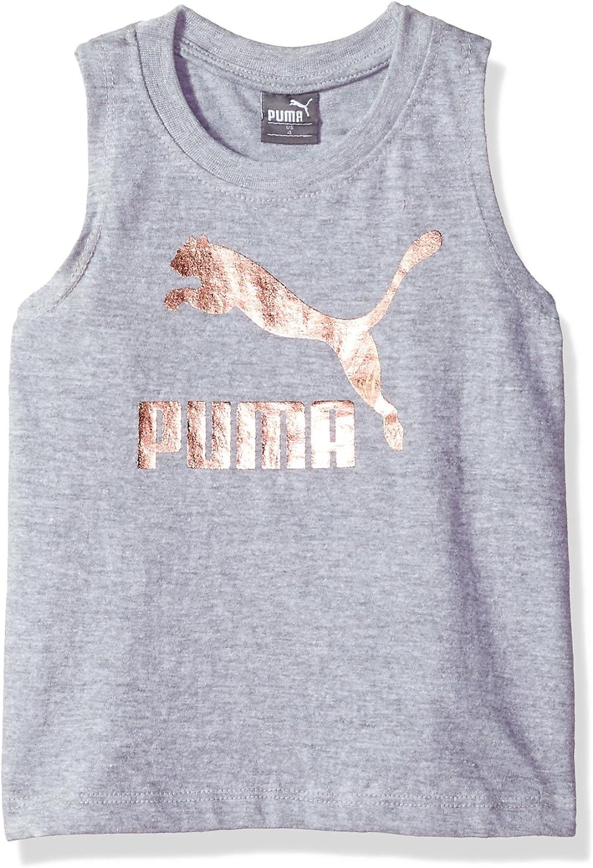 PUMA Girls' Archive Logo Tulip Back Tank