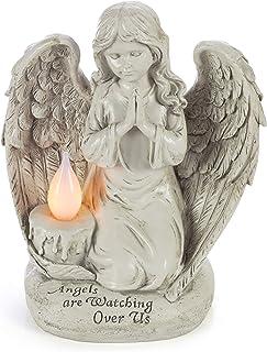 Praying Angel Watching Over Us Solar Garden Light