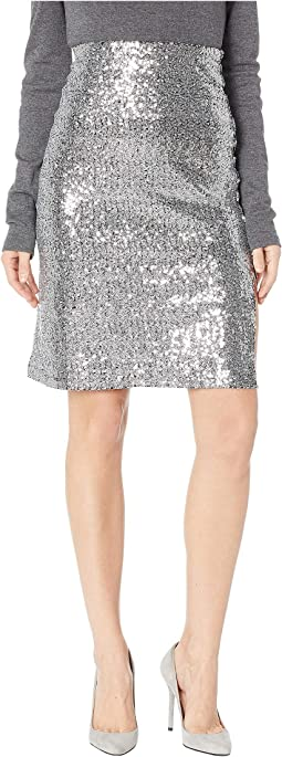 All Night Sequin Skirt