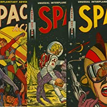 Space Action. Unusual Interplanetary adventures. Issues 1, 2 and 3. Features Invaders from a lost galaxy, Silicon Monsters, Golden Age Digital Comics