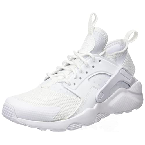 e11fc7dd6a0a Nike Air Huarache Run Ultra Big Kids  Running Shoes White White White 847569