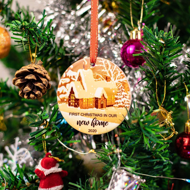 2020 Christmas Ornament Christmas Tree Decor Home Decor Alphabet Christmas Light I Love You Mom 2020