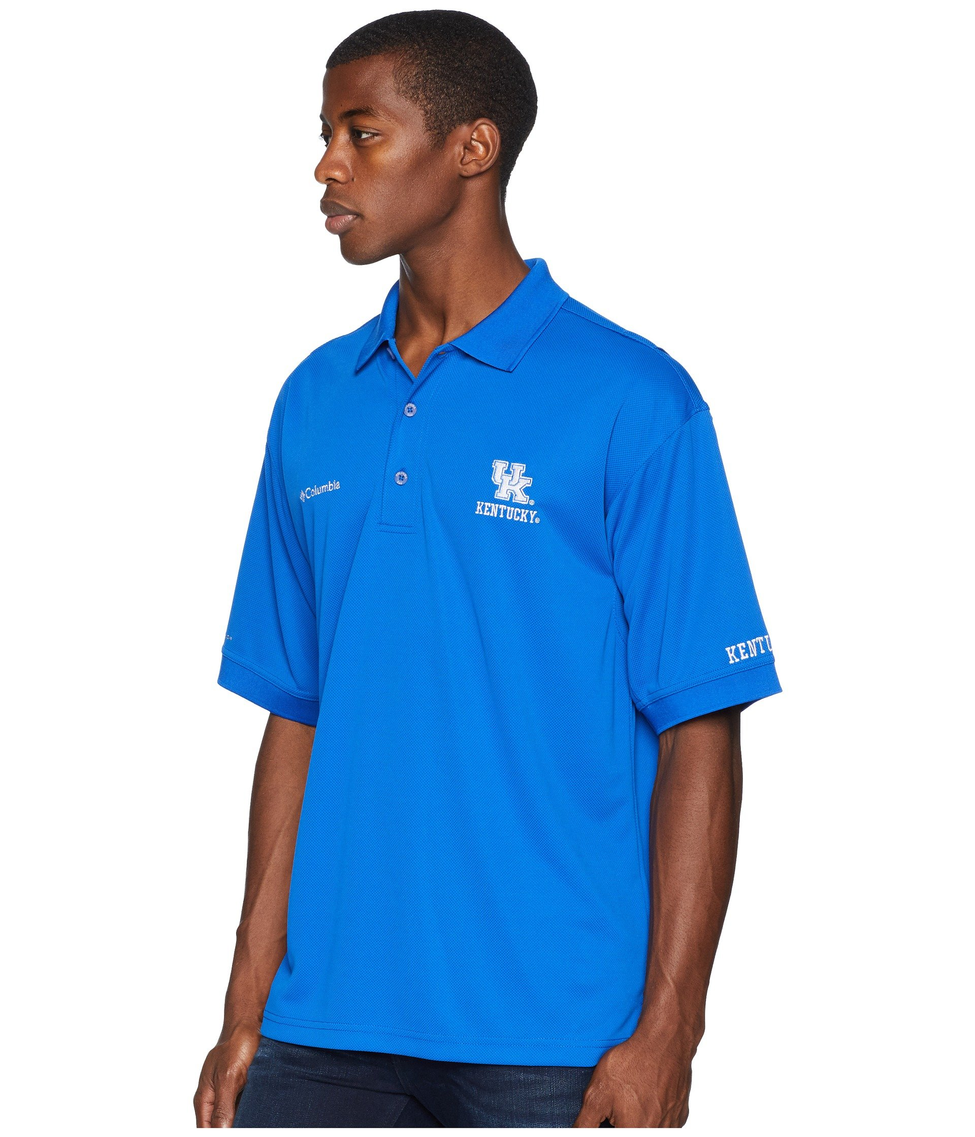 azul Top Polo Kentucky Perfect Collegiate Cast™ Columbia wzY8qn