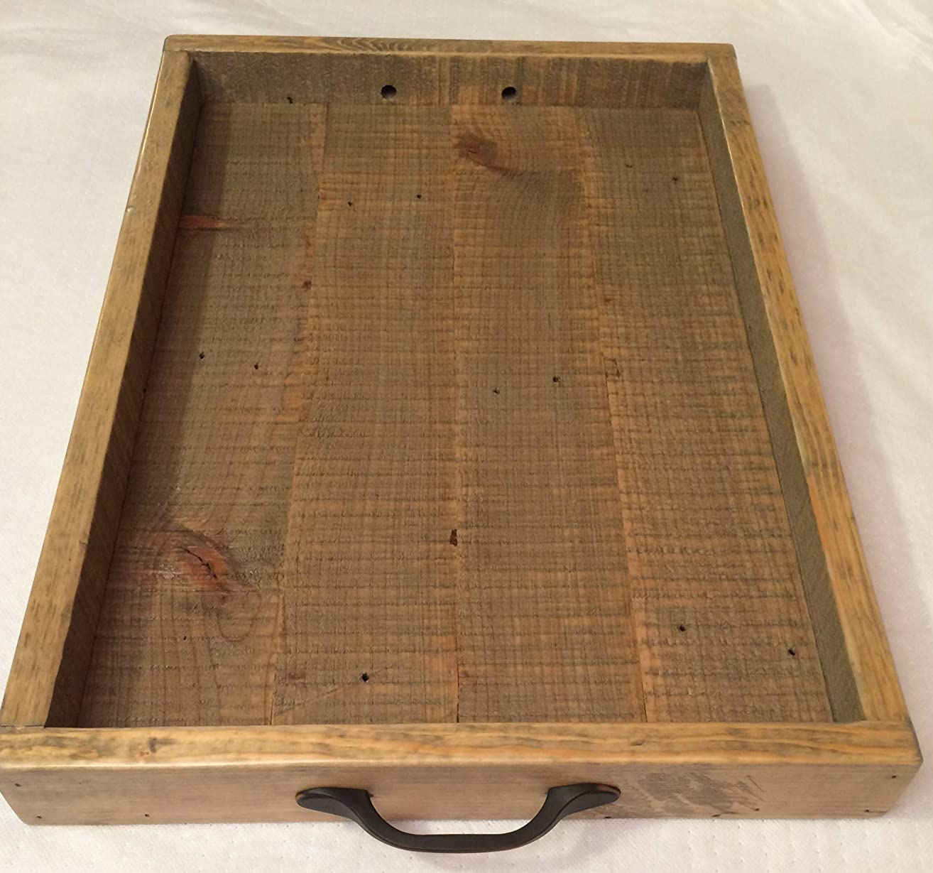 Rustic Serving Tray, Tea Tray, Decorative Serving Trays, Serving Tray, Ottoman Tray, Wooden Tray, Bed Tray, Coffee Tray, Tray With Handle