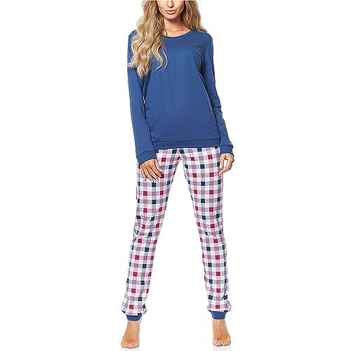 5a74d34fba Cornette Pijama Conjunto Camiseta y Pantalones Mujer 671 2016