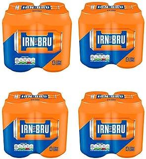 Bundle of 16 - Barr's Irn Bru Soft Drink 11.1 FLoz x 16 - Delivers USA 7 - 10 days