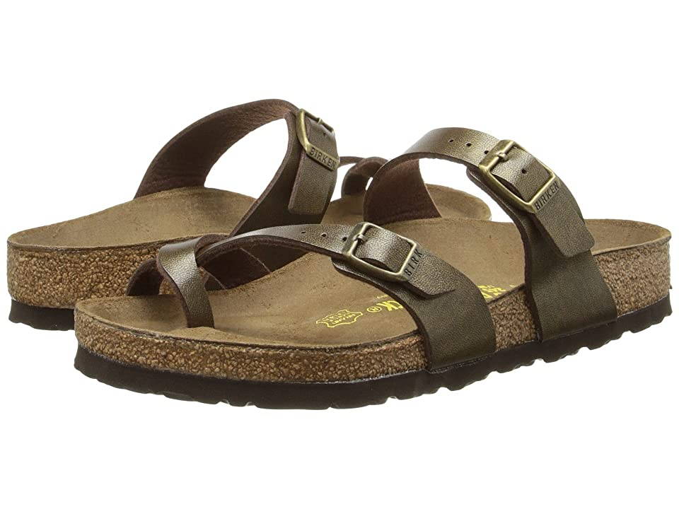 Birkenstock Mayari (Golden Brown Birko-Flor) Women