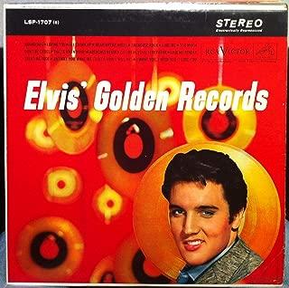 ELVIS PRESLEY GOLDEN RECORDS vinyl record
