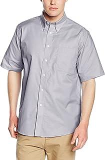 Fruit of the Loom Men's Oxford Short Sleeve Shirt