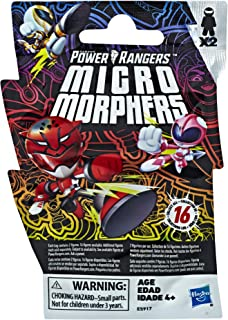 Power Rangers Hasbro Toys Toys Micro Morphers Series 1 Collectible Figures, Great for Party Favors & Stocking Stuffers