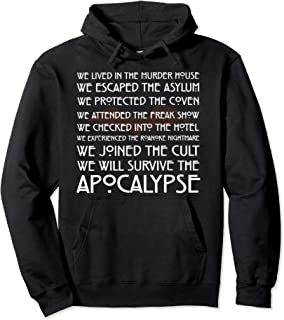 American Movies Horror Story Halloween Christmas T-Shirt Pullover Hoodie