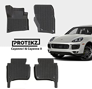 Protekz 3D All Weather Floor Mats/Liners Custom fit for Select Porsche Cayenne 2010 2011