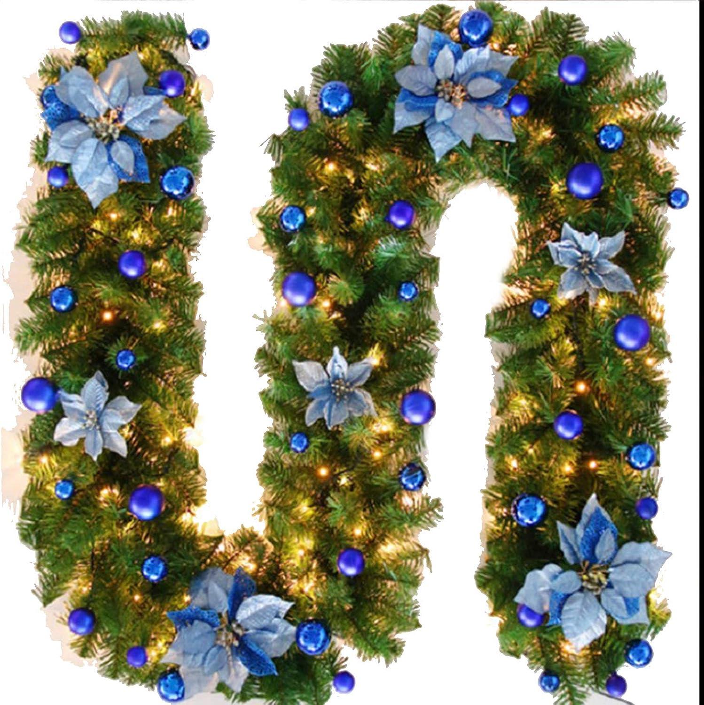 Trade Star Exports Bargain 9ft Garland Finally resale start Christmas Deco