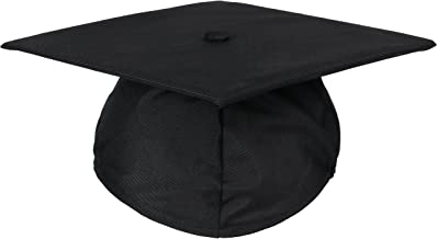 size of a standard graduation cap