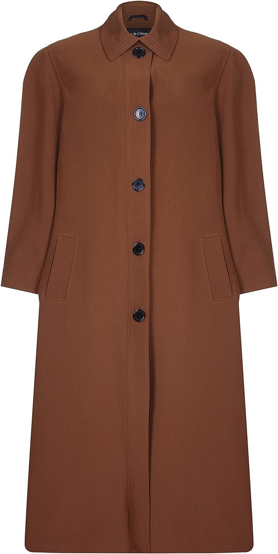 De La Creme Women`s Spring Long Raincoat