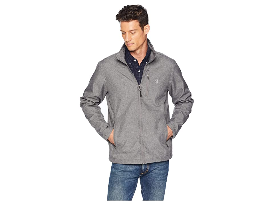 U.S. POLO ASSN. Softshell Jacket (Dark Grey) Men