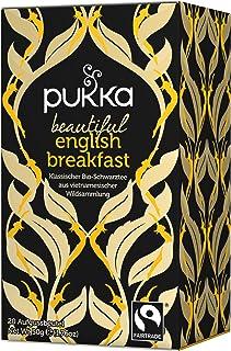 Beautiful English Breakfast PUKKA Tee BIO 4 Packungen à 20 Teebeutel