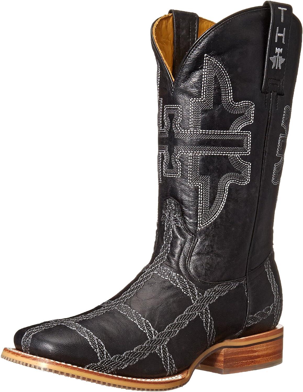 Tin Haul shoes Men's Rope Burn Western Boot