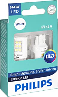 Philips 7443 Ultinon LED Bulb (White), 2 Pack