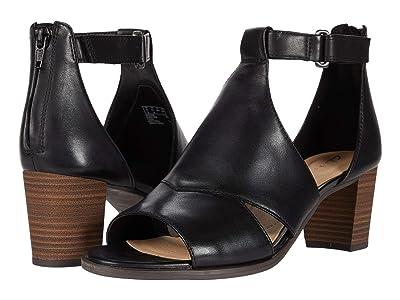 Clarks Kaylin Glad (Black Leather) Women