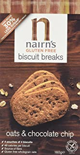 Nairn's Gluten Free Chocolate Chip Biscuit Breaks x12