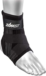 Zamst A1 Left Ankle Brace, Black, Medium