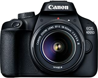 Canon EOS 4000D EF-S 18-55mm III Lens - Black