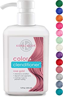 Keracolor Conditioning Cleanser Instantly Infuse Color into Hair, 15 Colors | Cruelty Free, 12 ounce