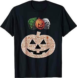 Halloween III Masks and Pumpkin