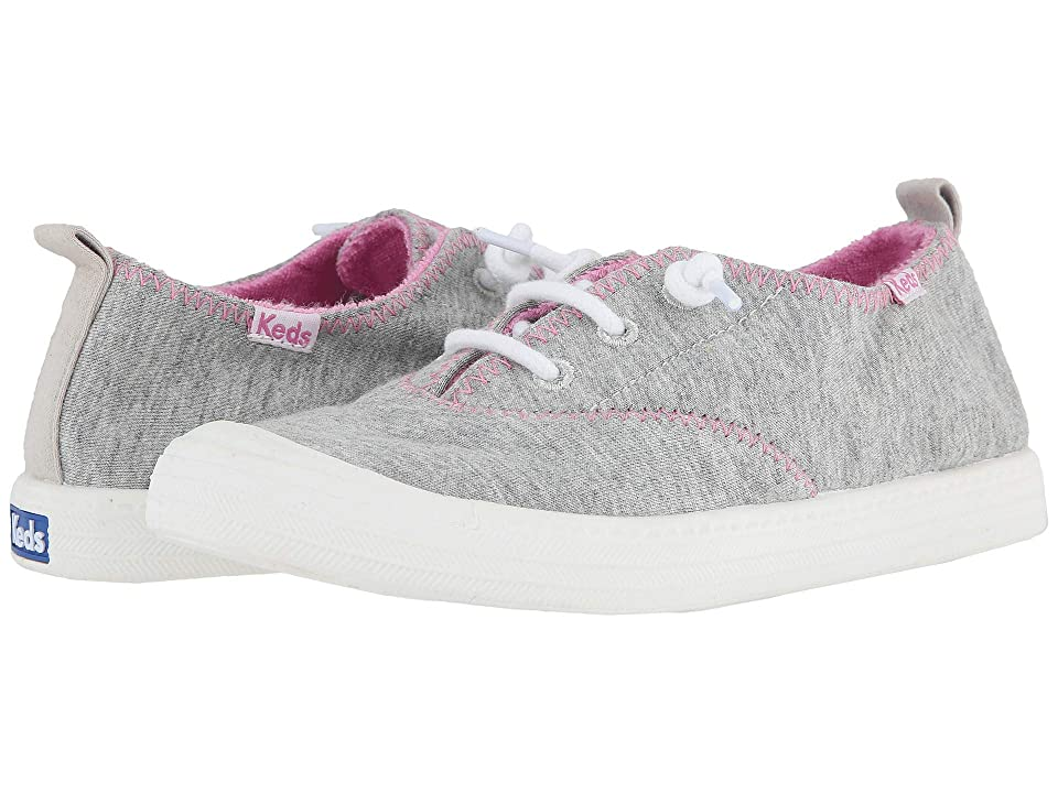 Keds Kids Breaker (Little Kid/Big Kid) (Grey Terry) Girl