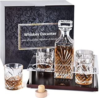 top shelf whiskey decanter