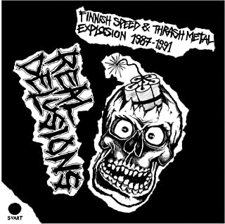 Real Delusions Finnish Speed Thrash Metal Explosion 1987 1991