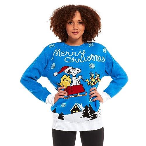 85020b6b1c607 New Camp Ltd Mens Ladies Unisex Christmas Xmas Jumper Sweater Knitted  Rudolph Santa Reindeer Nordic Culture