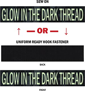 Custom Glow-in-The-Dark Uniform Name Tapes, Over 50 Fabrics USA Made, Same Day Ship.
