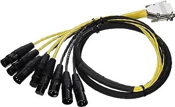 Avid Db25 XLR M+F AES/Ebu Digisnake 4' Model #Mh097 (99403042500)