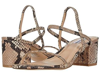 Steve Madden Inessa Heeled Sandal (Blush Snake) Women
