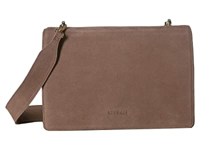 NEUVILLE Pepper Satchel (Marron Suede) Handbags