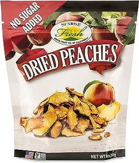 Dried California Peaches, No added Sulfur, No Added Sugar