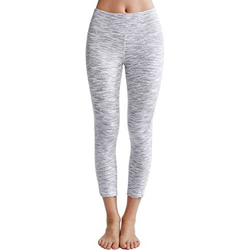 12f23d7daa26b7 Oalka Women's Yoga Capris Power Flex Running Pants Workout Leggings