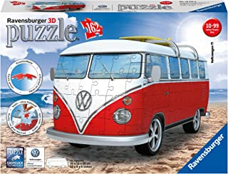Ravensburger Volkswagen T1 Campervan 162 Piece 3D Jigsaw Puzzle for Kids and Adults..