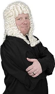 Judge Costume Accessory White Deluxe Wig