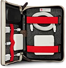 Twelve South BookBook Caddysack | Travel Tote for Chargers, Cables & Adapters