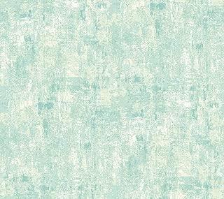 Décor Direct YWCM3365 Sea Mist Texture Wallpaper, x 27 ft. = 60.75 sq.ft, Silvery Grey, Medium Blue